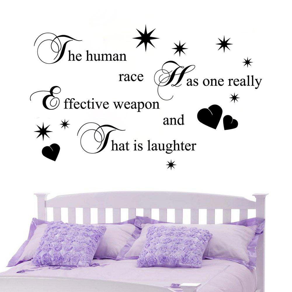 DSU Laughter For Dining Room Bedroom Home Decoration Wall Decal