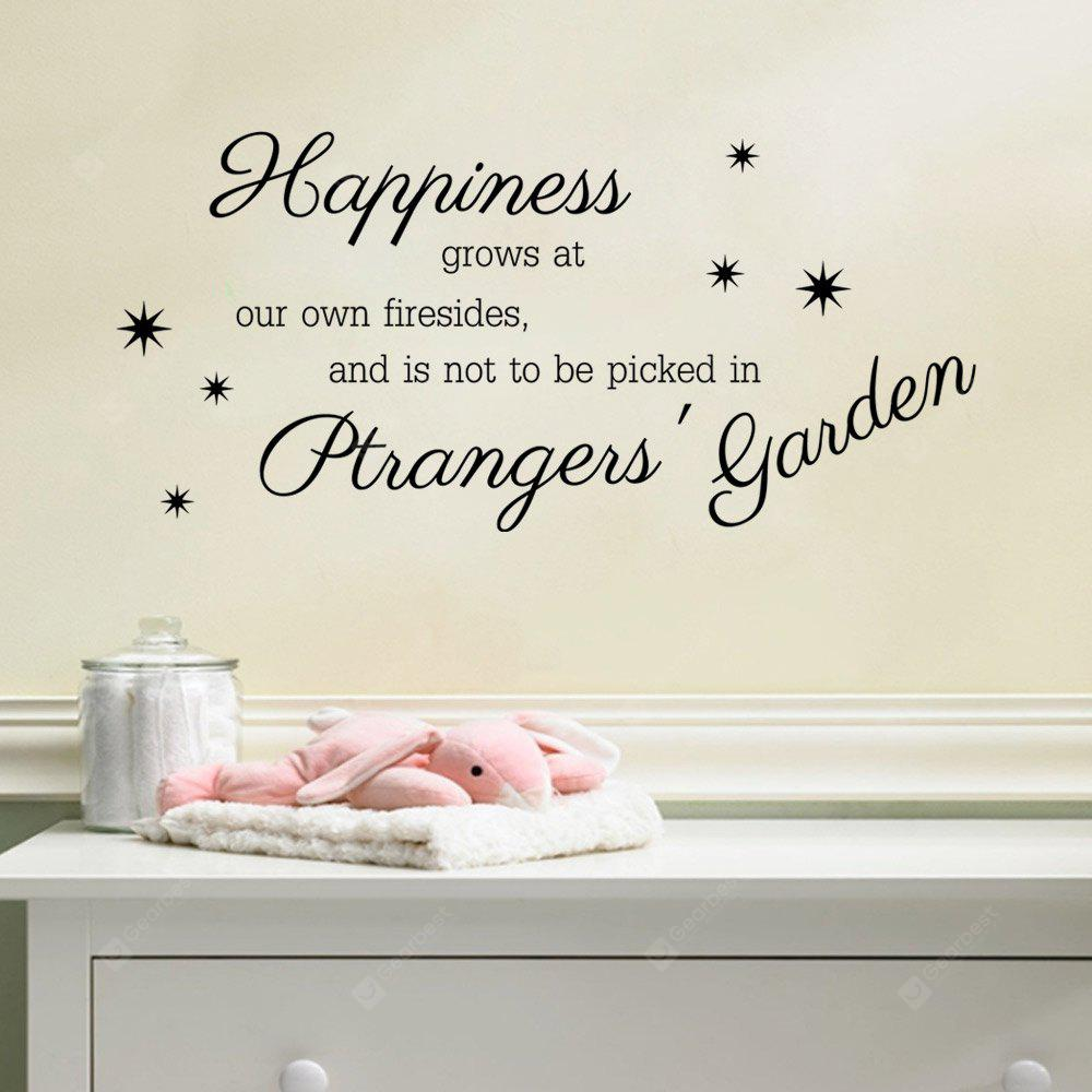 DSU Art Character Happiness For Living Room Wall Sticker