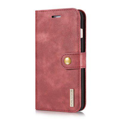 DG.MING Cow Leather Separable Back Case with Magnetic Button Flip Wallet Cover for iPhone 7 PlusiPhone Cases/Covers<br>DG.MING Cow Leather Separable Back Case with Magnetic Button Flip Wallet Cover for iPhone 7 Plus<br><br>Features: With Credit Card Holder<br>Material: Cowhide<br>Package Contents: 1 x Cow Leather Flip Wallet Case<br>Package size (L x W x H): 20.00 x 20.00 x 5.00 cm / 7.87 x 7.87 x 1.97 inches<br>Package weight: 0.0500 kg<br>Product weight: 0.0300 kg<br>Style: Name Brand Style