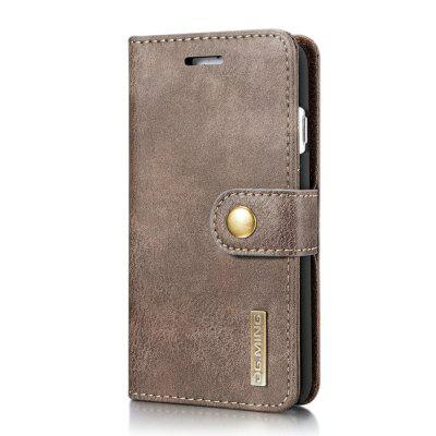 DG.MING Cow Leather Separable Back Case with Magnetic Button Flip Wallet Cover for iPhone 6S PlusiPhone Cases/Covers<br>DG.MING Cow Leather Separable Back Case with Magnetic Button Flip Wallet Cover for iPhone 6S Plus<br><br>Features: With Credit Card Holder<br>Material: Cowhide<br>Package Contents: 1 x Cow Leather Flip Wallet Case<br>Package size (L x W x H): 20.00 x 20.00 x 5.00 cm / 7.87 x 7.87 x 1.97 inches<br>Package weight: 0.0500 kg<br>Product weight: 0.0300 kg<br>Style: Name Brand Style