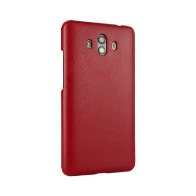 Retro Style Cow Leather Hard Back Case for Huawei Mate 10