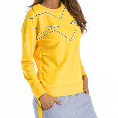 The Round Collar Fashion SuitSweatshirts &amp; Hoodies<br>The Round Collar Fashion Suit<br><br>Closure Type: None<br>Collar: Round Collar<br>Detachable Part: None<br>Elasticity: Super-elastic<br>Fabric Type: Cotton<br>Hooded: No<br>Material: Polyester<br>Package Contents: 1 x Suit<br>Pattern Style: Print<br>Shirt Length: Regular<br>Sleeve Length: Full<br>Sleeve Style: Regular<br>Style: Casual<br>Thickness: Standard,Wool Liner<br>Weight: 0.6000kg
