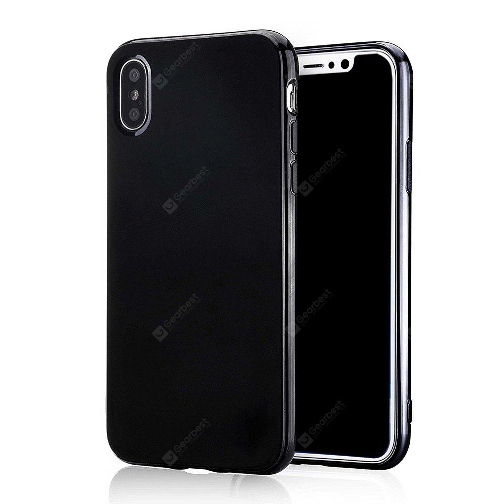 Shockproof Ultra Slim Fit Silicone TPU Soft Gel Rubber Cover Shock Resistance Protective Back Bumper for IPhone X
