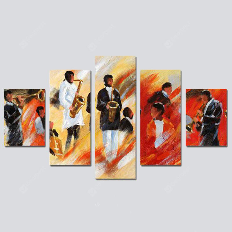 COLORMIX QiaoJiaoHuanYuan No Frame CanvasDecorate Print 5PCS