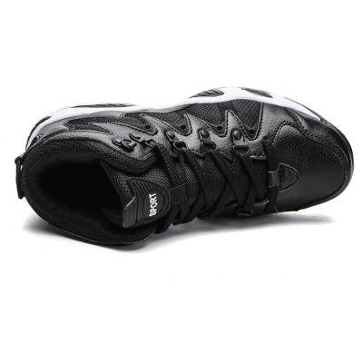 Male Autumn and Winter New High Heel Sports ShoesAthletic Shoes<br>Male Autumn and Winter New High Heel Sports Shoes<br><br>Available Size: 39-44<br>Closure Type: Lace-Up<br>Feature: Height Increasing<br>Gender: For Men<br>Outsole Material: Rubber<br>Package Contents: 1x Shoes (pair)<br>Pattern Type: Solid<br>Season: Spring/Fall<br>Upper Material: PU<br>Weight: 1.2000kg