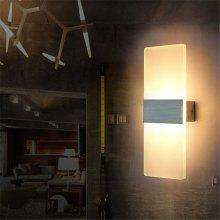 Modern Rectangular Style LED Corridor Living Room Bedroom Lamp Wall Light