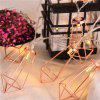 1.5M String Light LED Diamond Shaped Outdoors Decor 10PCS - LUZ DE ORO