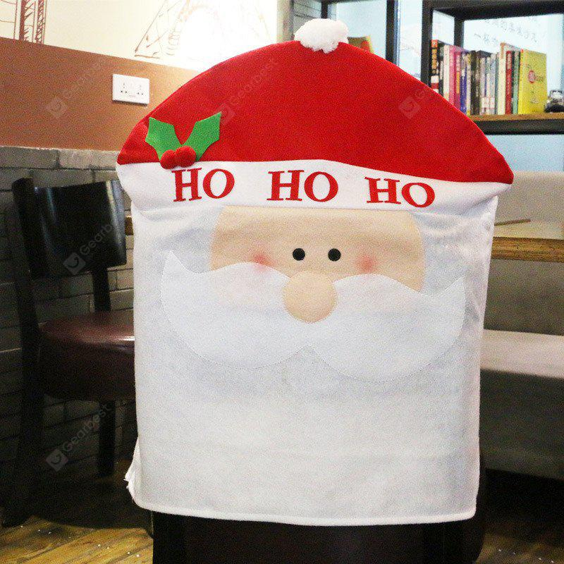 Christmas Decoration Chair Cover Hotel Restaurant Holiday Dressing Supplies