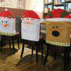Christmas Decoration Chair Cover Hotel Restaurant Holiday Dressing Supplies - COLORMIX
