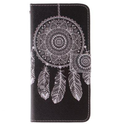 Black Bell Design PU + TPU Leather Wallet Case Design com Stand e Slots de cartão Tampa de fecho magnético para Iphone 6 / 6S 4.7 Inch