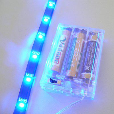 Buy True-Shine Christmas LED Strips Blue Light BLUE for $3.87 in GearBest store