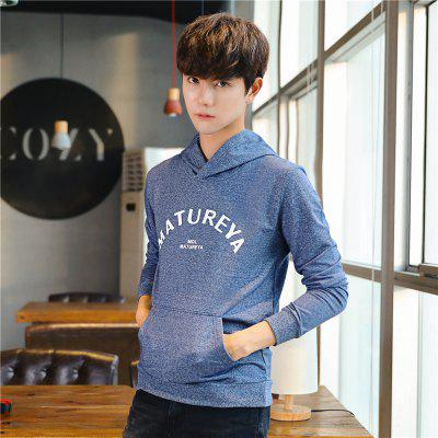 Mens Fashion Printing Long-Sleeved HoodieMens Hoodies &amp; Sweatshirts<br>Mens Fashion Printing Long-Sleeved Hoodie<br><br>Material: Cotton, Polyester<br>Package Contents: 1 x Hoodie<br>Shirt Length: Regular<br>Sleeve Length: Full<br>Style: Casual<br>Weight: 0.3200kg