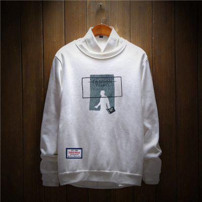 Mens Cotton Printing Clothing Plus Loose Fashion SweatshirtMens Hoodies &amp; Sweatshirts<br>Mens Cotton Printing Clothing Plus Loose Fashion Sweatshirt<br><br>Material: Cotton, Polyester<br>Package Contents: 1 x Sweatshirt<br>Shirt Length: Regular<br>Sleeve Length: Full<br>Style: Casual<br>Weight: 0.2500kg