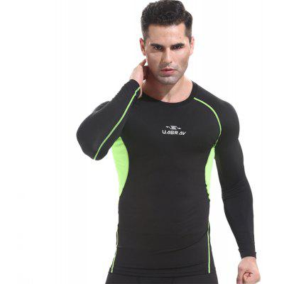 Basketball Tights Fitness Clothing Male Outdoor Quick-Drying Long Sleeve T-Shirt