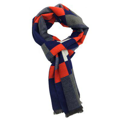 Winter Outdoors Pashmina Fashion Warmth Celosía larga bufanda para hombres