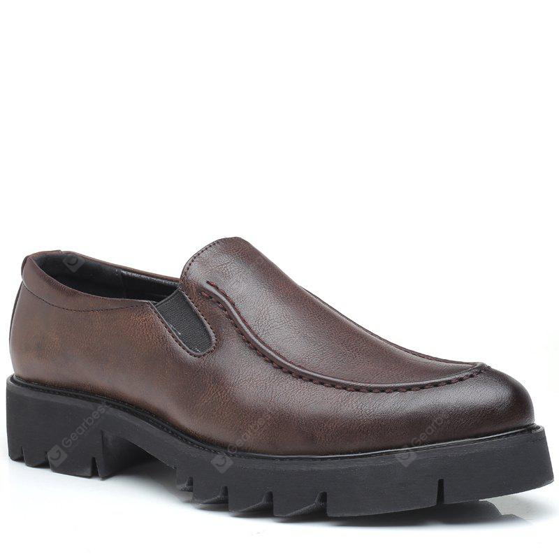 Men Leisure Slip on Leather Shoes