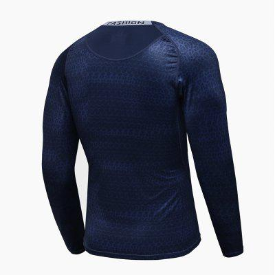 Men Professional  Base Under Layer Gym Training Running Fitness  Perspiration Quick-Drying Sports Bottoming Shirts