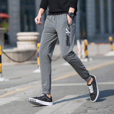 Mens Casual Sports PantsSports Clothing<br>Mens Casual Sports Pants<br><br>Elasticity: Elastic<br>Material: Spandex<br>Package Contents: 1 x Pants<br>Pattern Type: Print<br>Weight: 0.5000kg