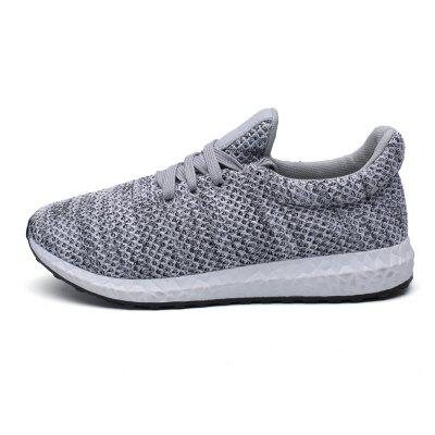Fashionable and Comfortable Mens Running ShoesAthletic Shoes<br>Fashionable and Comfortable Mens Running Shoes<br><br>Available Size: 35-44<br>Closure Type: Lace-Up<br>Feature: Breathable<br>Gender: Unisex<br>Outsole Material: Rubber<br>Package Contents: 1  x Sports Shoes(pair)<br>Pattern Type: Solid<br>Season: Spring/Fall<br>Upper Material: Canvas<br>Weight: 1.0000kg