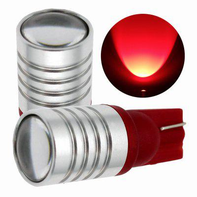 Buy RED 2PCS T10 W5W High Power Car LED Wide Bulb DC 12V 24V for $18.13 in GearBest store