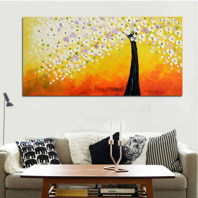 Money Tree Printed Unframed Canvas Print