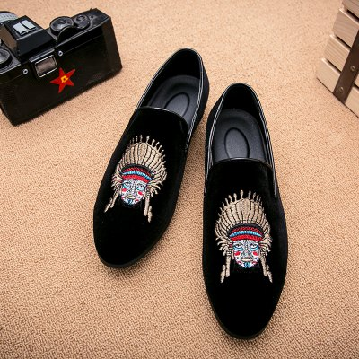 Men Casual Fashion Outdoor Loafers Slip on Face ShoesCasual Shoes<br>Men Casual Fashion Outdoor Loafers Slip on Face Shoes<br><br>Available Size: 38-43<br>Closure Type: Slip-On<br>Embellishment: None<br>Gender: For Men<br>Outsole Material: Rubber<br>Package Contents: 1?Shoes(pair)<br>Pattern Type: Solid<br>Season: Winter, Spring/Fall<br>Toe Shape: Round Toe<br>Toe Style: Closed Toe<br>Upper Material: Flock<br>Weight: 1.2000kg