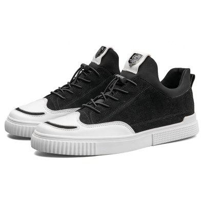 Men Fashion Shoes Rubber Sneakers Male Outdoor Breathable SportsCasual Shoes<br>Men Fashion Shoes Rubber Sneakers Male Outdoor Breathable Sports<br><br>Available Size: 39-44<br>Closure Type: Lace-Up<br>Embellishment: None<br>Gender: For Men<br>Outsole Material: Rubber<br>Package Contents: 1?Shoes(pair)<br>Pattern Type: Solid<br>Season: Summer, Winter, Spring/Fall<br>Toe Shape: Round Toe<br>Toe Style: Closed Toe<br>Upper Material: Full Grain Leather<br>Weight: 1.2000kg