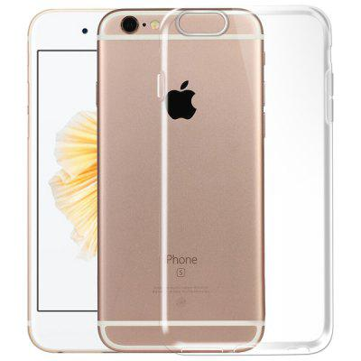 Soft TPU Clear Crystal Slim Cover Case for iPhone 6s Plus / 6 Plus baseus soft tpu dustproof clear case for iphone 7 7 plus