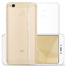Transparent Clear Soft Slim Case for Xiaomi Redmi 4X