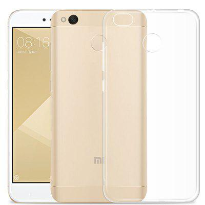 Transparent Clear Soft Slim Case for Xiaomi Redmi 4X grasale soft tpu case for xiaomi redmi 4x ultra thin transparent protective back cover for xiaomi redmi 4x shell