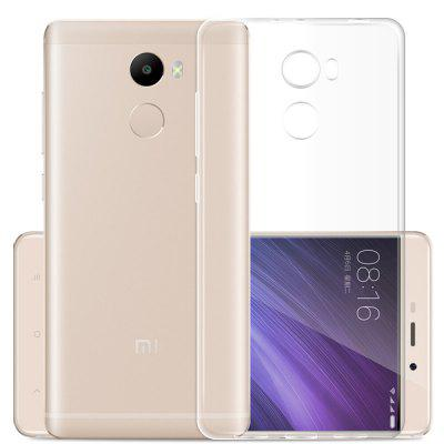 Transparente Clear Crystal Slim Soft Case para Xiaomi Redmi 4