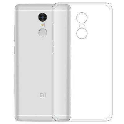 Transparente Slim Soft TPU Cover Case para Xiaomi Redmi Note 4