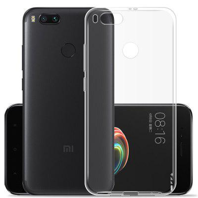 Transparente Soft TPU Clear Cover Case para Xiaomi A1 / Mi 5X
