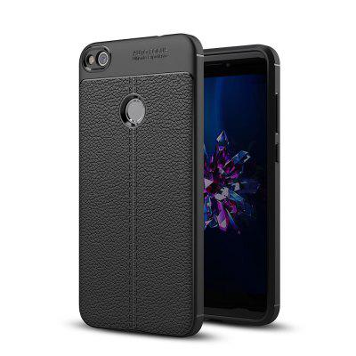 Case for Huawei Honor 8 Lite Shockproof Back Cover Solid Color Soft TPU
