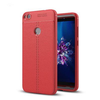 Case for Huawei Honra 8 Lite Shockproof Back Cover Solid Color Soft TPU