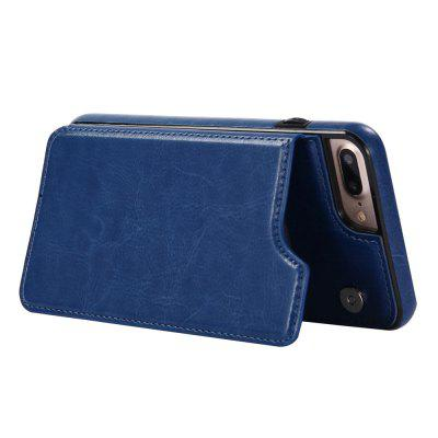 Case for iPhone 8 Plus / 7 Plus Card Holder with Stand Back Cover Solid Color Hard PU LeatheriPhone Cases/Covers<br>Case for iPhone 8 Plus / 7 Plus Card Holder with Stand Back Cover Solid Color Hard PU Leather<br><br>Color: Black,White,Red,Brown,Dark blue,Rose Madder<br>Compatible for Apple: iPhone 7 Plus, iPhone 8 Plus<br>Features: Back Cover, With Credit Card Holder, With Mirror<br>Material: TPU, PU Leather<br>Package Contents: 1 x Phone Case<br>Package size (L x W x H): 20.00 x 10.50 x 1.50 cm / 7.87 x 4.13 x 0.59 inches<br>Package weight: 0.0740 kg<br>Style: Vintage, Solid Color