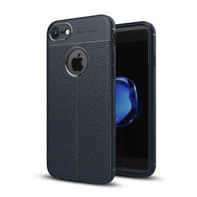 Case for Apple iPhone 8 / 7 Shockproof Back Cover Solid Color Soft TPU