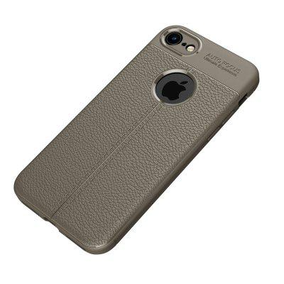 Case for Apple iPhone 8 / 7 Shockproof Back Cover Solid Color Soft TPUiPhone Cases/Covers<br>Case for Apple iPhone 8 / 7 Shockproof Back Cover Solid Color Soft TPU<br><br>Color: Black,Dark blue,Gray,Red<br>Compatible for Apple: iPhone 7, iPhone 8<br>Features: Anti-knock, Back Cover<br>Material: TPU<br>Package Contents: 1 x Phone Case<br>Package size (L x W x H): 20.00 x 10.50 x 1.50 cm / 7.87 x 4.13 x 0.59 inches<br>Package weight: 0.0350 kg<br>Style: Vintage, Leather