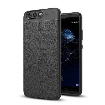 Shockproof Back Cover Solid Color Soft TPU Case for Huawei P10 Plus