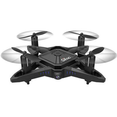 GTENG T911W 2.4GHZ 4CH Foldable Drone Wifi FPV RC Drone with HD Camera RC Quadcopter