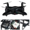 GTENG T911W 2.4GHZ 4CH Foldable Drone WiFi FPV RC Drone with HD Camera - BLACK