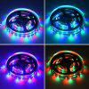 HML 5M 24W RGB 2835 SMD 300 LED Strip Light mit RF 10 Tasten Fernbedienung und DC Adapter - RGB