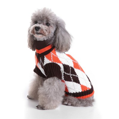 Cute Plaid Dog Sweaters for Christmas