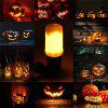 E27 Flame Flickering Breathing General Modes Halloween Decoration LED Lights Bulb AC 85 - 265V - WARM WHITE