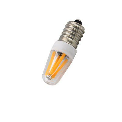 Dimmable E14 4 - LED 2W Decoration Acrylic Light Bulb AC 220V
