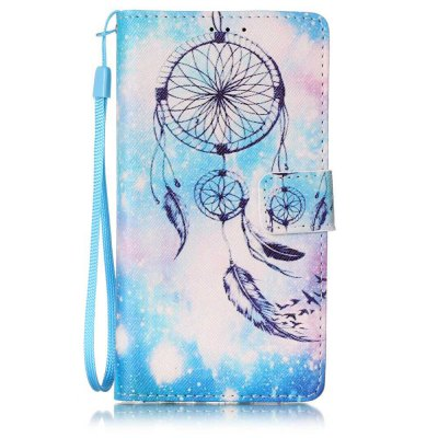 Buy WINDSOR BLUE The New Painted PU Phone Case for HUAWEI P9 Lite for $5.29 in GearBest store