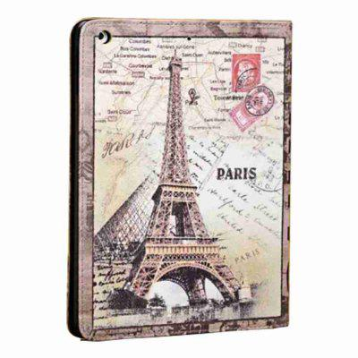 For iPad 5 / Air Classic Vintage Painted Tablet Leather Case