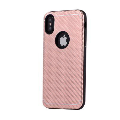 Shockproof Back Cover Metal Carbon Fiber and TPU Material Phone Case for iPhone XiPhone Cases/Covers<br>Shockproof Back Cover Metal Carbon Fiber and TPU Material Phone Case for iPhone X<br><br>Color: Rose Gold,Silver,Black,Gold<br>Compatible for Apple: iPhone X<br>Features: Back Cover<br>Material: Metal, TPU<br>Package Contents: 1 x Phone Case<br>Package size (L x W x H): 15.20 x 8.20 x 1.20 cm / 5.98 x 3.23 x 0.47 inches<br>Package weight: 0.0250 kg<br>Product size (L x W x H): 15.00 x 8.00 x 1.20 cm / 5.91 x 3.15 x 0.47 inches<br>Style: Metal Finish, Solid Color, Stripe Pattern