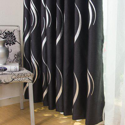 European Style Simple Embossed Hot Silver Process Living Room Bedroom Restaurant Curtains GrommetWindow Treatments<br>European Style Simple Embossed Hot Silver Process Living Room Bedroom Restaurant Curtains Grommet<br><br>Crafts: Reactive Print<br>Curtain Pattern: Stripe<br>Curtain Style: European Style<br>Curtain Type: Blackout Curtains Drapes<br>Package Contents: 1 x Curtain Set<br>Package size (L x W x H): 40.00 x 20.00 x 9.00 cm / 15.75 x 7.87 x 3.54 inches<br>Package weight: 1.1000 kg<br>Product weight: 1.0000 kg<br>Top Construction: Grommet Top<br>Type: Curtain
