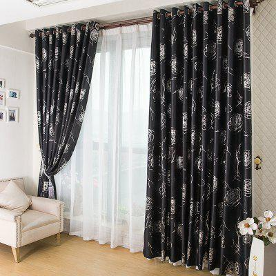 European Style Embossed Hot Silver Process Living Room Bedroom CurtainsWindow Treatments<br>European Style Embossed Hot Silver Process Living Room Bedroom Curtains<br><br>Crafts: Reactive Print<br>Curtain Pattern: Jacquard<br>Curtain Style: European<br>Curtain Type: Curtains Drapes<br>Package Contents: 1 x Curtain     1 x Hook<br>Package size (L x W x H): 40.00 x 22.00 x 11.00 cm / 15.75 x 8.66 x 4.33 inches<br>Package weight: 2.1000 kg<br>Product weight: 2.0000 kg<br>Top Construction: Pencil Pleated,Double Pleated,Tab top,Grommet Top,Rod pocket<br>Type: Curtain